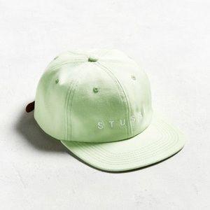NWT Stussy Mint Green Snapback Hat Unisex